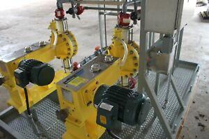 Milton Roy Metering Pump Package Skid 626 GPH