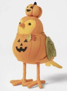 Target 2021 Hyde And Eek Halloween Pumpkin Bird Featherly Friends PUMPER NWT