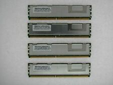16GB (4x4GB) DDR2 FB Fully Buffered PC2-5300F 667 Mhz Dell PowerEdge 1950 TESTED