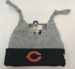Chicago Bears New Era Boys Infant Double Bunny Knit Hat