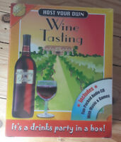 HOST YOUR OWN WINE TASTING EVENING Party/Drinking Game