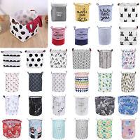 Faltbar Kleideraufbewahrung Mülleimer Spielzeug Halter Behälter Haushalt Wäsche
