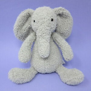 Jellycat Chouchou Elly Elephant grey baby soft toy plush beanie retired 2018