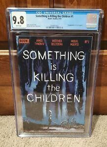 Something Is Killing The Children #1 CGC 9.8 1st Print Boom Studios TV Series