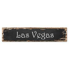 SP0135 Las Vegas Street Sign Bar Store Shop Pub Cafe Home Room Chic Decor