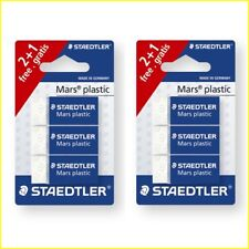 Pack de 6 caja con Mars pl/ástico borrador//afilador de Metal Staedtler Tradition l/ápices de dibujo