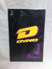 Rare NOS Sealed 80s/90s DYNO GT OWNERS MANUAL Old School BMX Freestyle Show Bike
