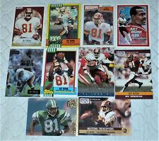 ART MONK Redskins / Jets 10 Card Assorted Lot