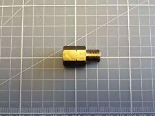 M12 x 1 male to m10 x 1 female brake pipe hardline in BRASS adaptor HU103