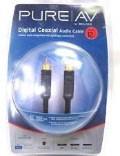 Belkin Home Theater Series Oxygen-Free Pure AV 12 feet Digital Coaxial Audio RCA