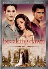 Twilight Saga Breaking Dawn Part 1 SE 0025192134548 With Kristen Stewart DVD