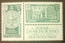 POLAND STAMPS MNH 1Fi1153 Sc998 Mi1301 - Recovery territories, 1962,**. right