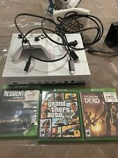 New listing Xbox One With Three Games