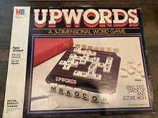 Vintage 1983 Milton Bradley Upwords 3-Dimensional Word Game