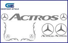 1 Set ( 5 Stück ) MERCEDES - ACTROS - Fahrerhaus Aufkleber - Sticker - Decal !!