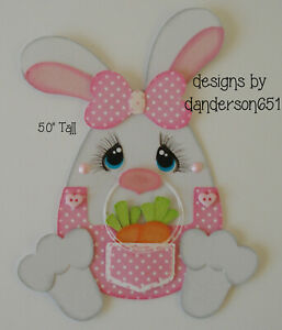 SpRiNg BuNnY EaStEr PreMade Paper Piecing Die Cut Scrapbook Border danderson651