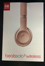 Beats by Dr. Dre Beats Solo 3 (Bluetooth Headphones)- Rose Gold