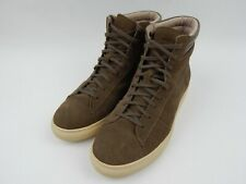 Andrew Marc Remsen Brown Suede High Top Sneakers Men's sz 9 $248