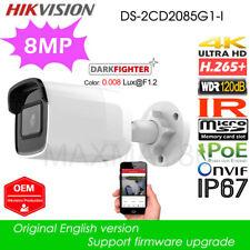 Hikvision DS-2CD2085G1-I Dark fighter 8MP IP Bullet IP Camera H.265 WDR 4mm OEM