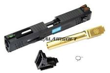 Custom Slide S Type for WE G18C Airsoft GBB ( Gold Barrel )