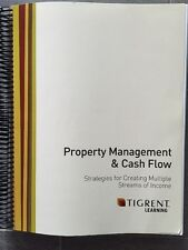 Tigrent Learning Property Management & Cash Flow Advanced Training Manual