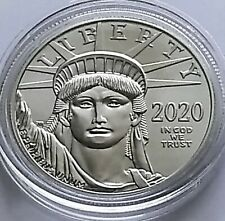 2020 American Eagle $100 1 oz .9995 Platinum BU Coin.