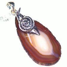 Samuel B Behnam BJC Natural Stone Sterling Silver 925 Vintage Necklace Designer