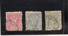 Austria Escudo Valores del año 1883 (DQ-171)