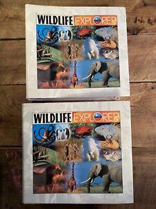 Wildlife Explorer Group Binder Lot Of 2 Books - 8 Groups - Homeschool Education