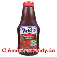1 Welch's Squeezable Concord Strawberry spread 624g alla fragola-Salsa (12,80 €/kg)