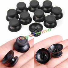 10 pcs Replacement Controller Analog Thumbsticks Thumb Stick for PS4 Black