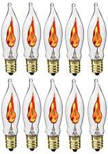 Creative Hobbies A101 Flicker Flame Light Bulb -3 Watt, 130 volt, E12 Candelabra