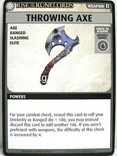 Pathfinder Adventure CARD GAME - 1x throwing axe-rise of the runelords