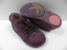 Chaussures NOEL mini bond violet FILLE taille 24 enfant girl shoes tochter NEUF
