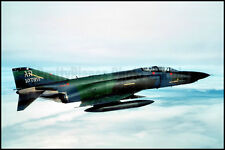 USAFE F-4 Phantom II RAF Alconbury 1987 8x12 Aircraft Photos