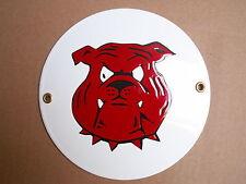 Warnung vor dem Hunde EMAILSCHILD Durchmesser 15 cm Warnschild S 12