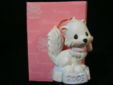Precious Moments Ornaments-Bushy Tailed Artic Fox-2003 Limited Edition