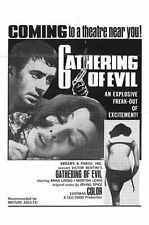Gathering Of Evil Poster 01 A3 Box Canvas Print
