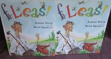 Fleas! ~ Jeanne Steig & Britt Spencer.  LARGE HbDj    A HOOT!  UNread!   in MELB