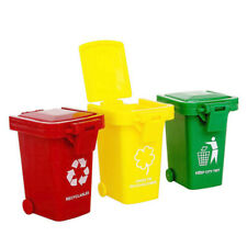 Trash Can Toy Garbage Trucks Trash Bin Mini Curbside Trashcan For Kids Toddlers