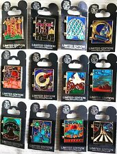 DISNEY 2010 WDW CAST EXCLUSIVE STAINED GLASS COLLECTION **COMPLETE** 12 PIN SET