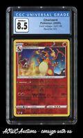 Pokemon - Vivid Voltage - Charizard (Reverse Holo) 025/185 - CGC NM/Mint+ 8.5