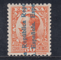 ESPAÑA (1931) NUEVO CON FIJASELLOS MLH - EDIFIL 601 (50 cts)