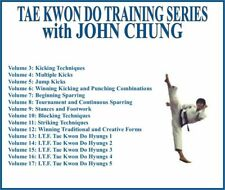 Perfect Tae Kwon Do Instructional Series (15) Dvd Set kicking sparring striking