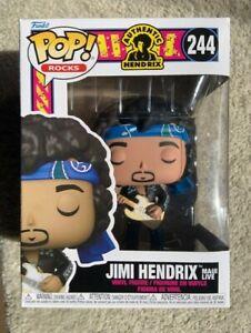 Jimi Hendrix Maui Live 244 Funko Pop Vinyl in Box