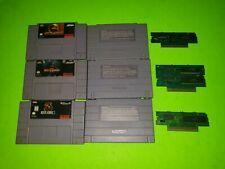 Mortal Kombat Trilogy Super Nintendo SNES 1 2 3 AUTHENTIC TESTED Lot Games II