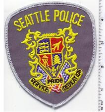 Seattle Police (Washington) Shoulder Patch from 1990
