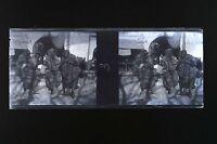 Balcani? Grecia Turchia Placca Stereo Negativo 45x107mm Ca 1916