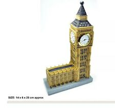 LONDON PARLIAMENT HOUSE BIG BEN MODEL CLOCK SOUVENIR GIFT
