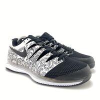 Nike Men's Air Zoom Vapor X HC White Black Tennis Shoes AA8030-103 Size 8